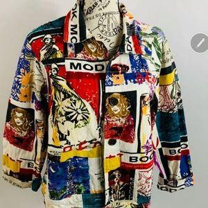 Life  Style women's petite XL Jacket
